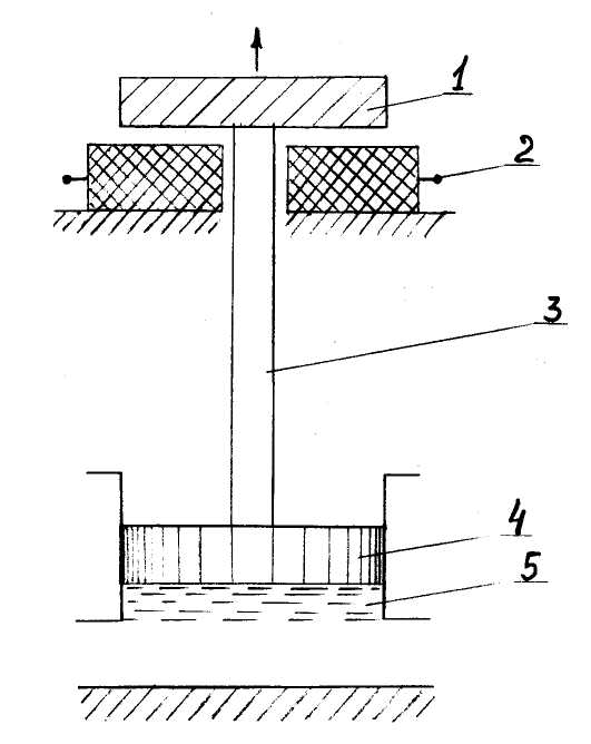 Схема магнитоимпульсного